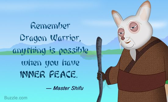 Singspirations memorable quotes from kung fu panda voltagebd Image collections