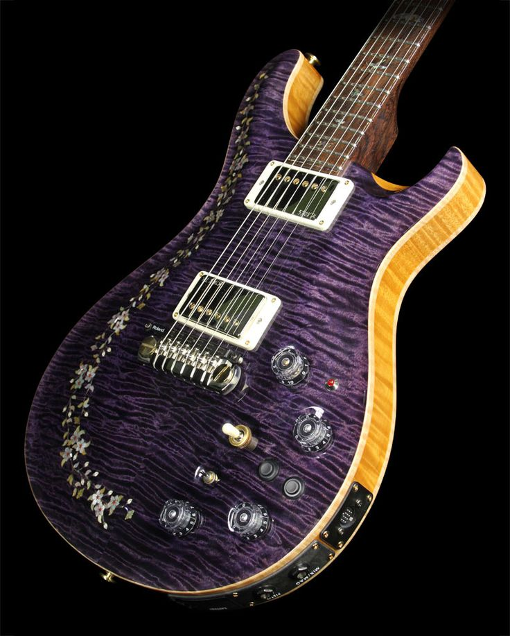 2012 paul reed smith private stock custom 22 semi hollowbody in transparent purple inspiration. Black Bedroom Furniture Sets. Home Design Ideas