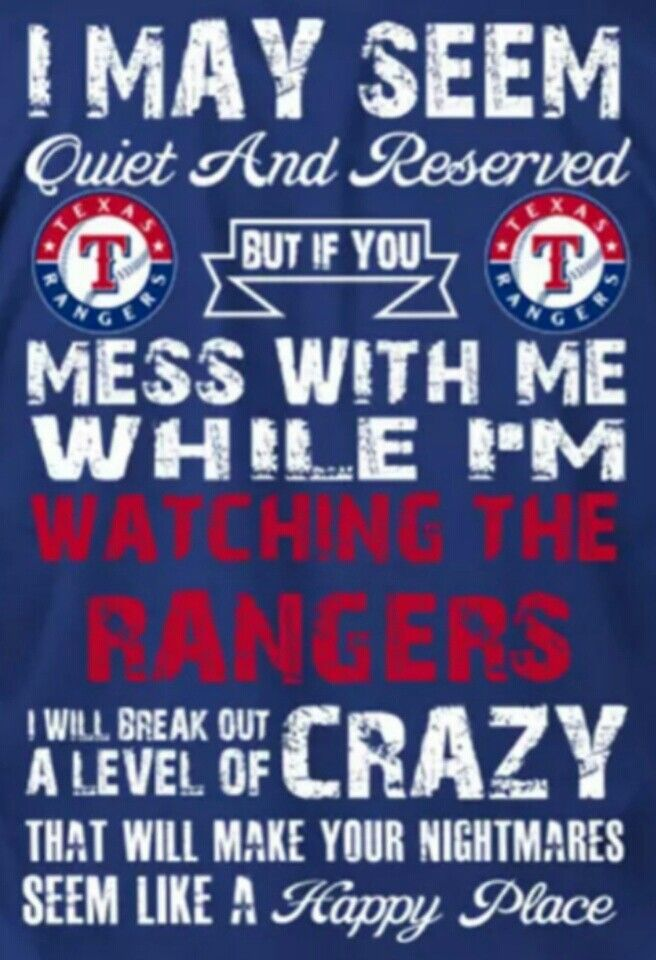 I so need this! #LetsGoRangers