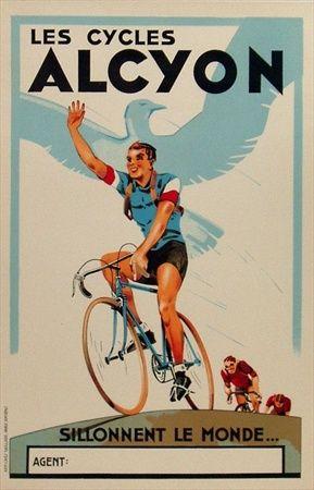 Les Cycles Alcyon ~ Emmanuel Gaillard | #Bicycles #Alcyon #Gaillard
