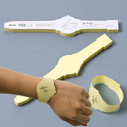 Post-It Sticky Notes Watch $14.99