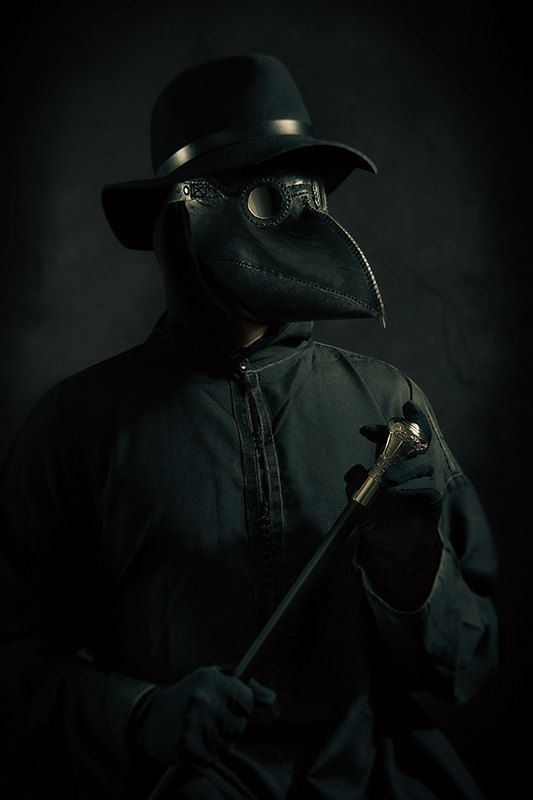 Leather plague doctor mask in 2019 | GOTHIC | Plague ...