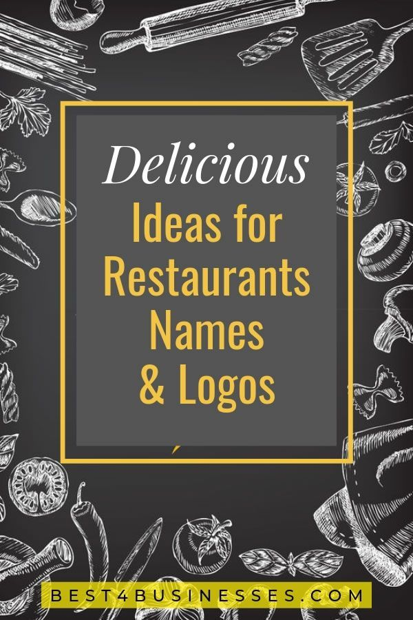 505 Restaurant Name Ideas: Catchy Names for Your New