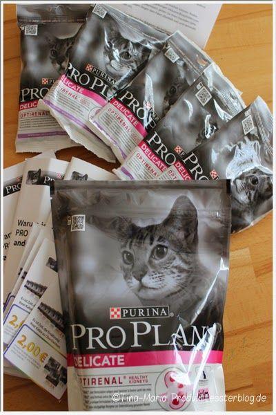 Tina-Maria Produkttesterblog: Wie unsere Katzen das neue Purnia PRO PLAN Delikat...