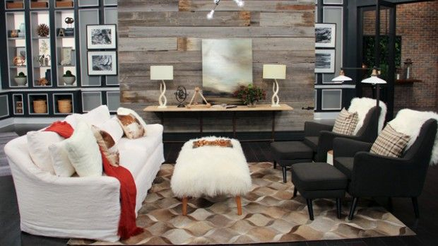 Get the Cabin Chic Look   Steven and Chris   Trish Johnston reveals how to cozy up and get the cabin chic look in your home this winter.