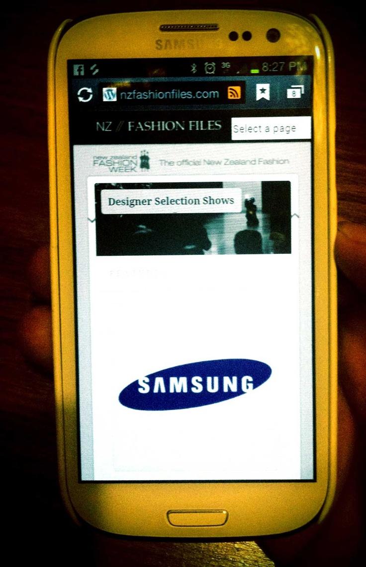 nzfashionfiles.com - powered by Samsung