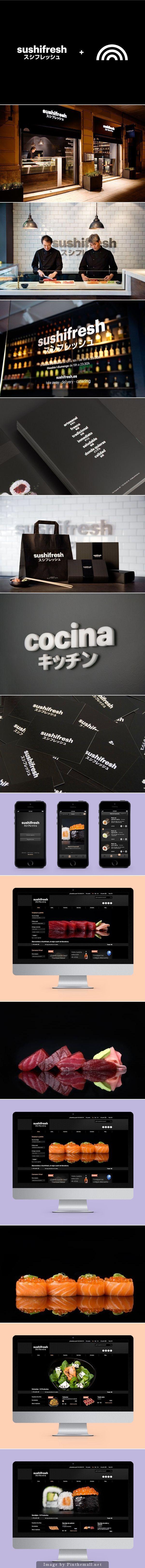 Sushifresh Branding