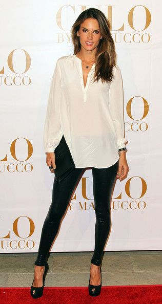 Ale has always been a style icon of mine and this outfit is evidence as to why! Can't wait to wear my leather leggings -NiC