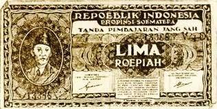 5 rupiah