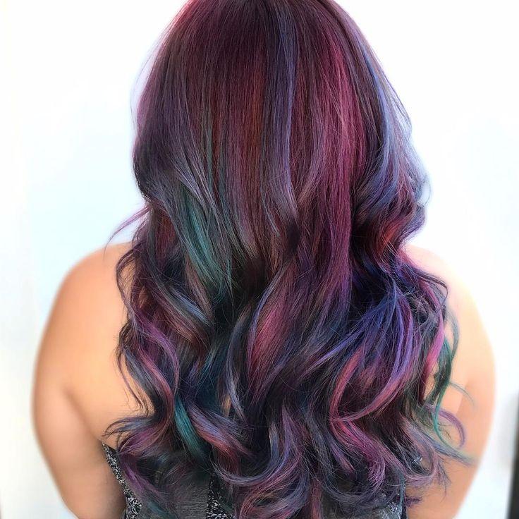 Best 25+ Vivid hair color ideas on Pinterest | Dimensional ...