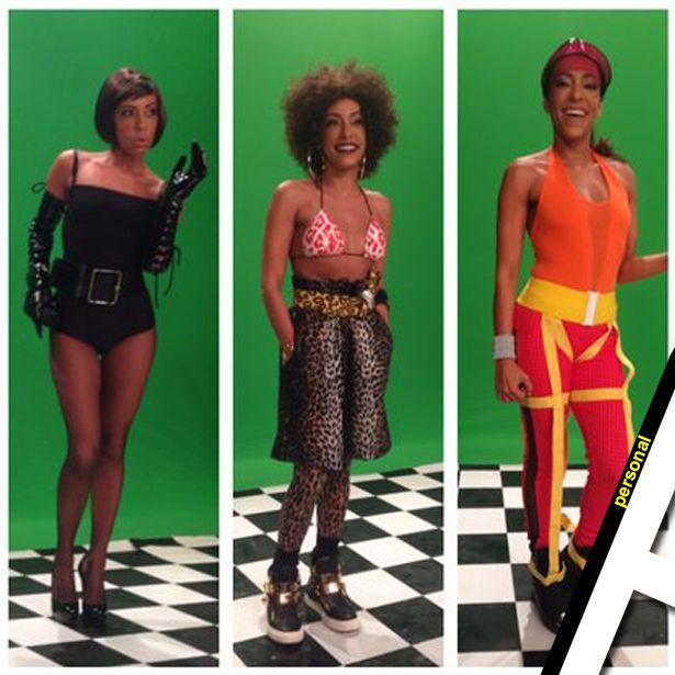 Personal Styling HVA -  Samantha Schmutz para o prêmio multishow 2014 - Spice Girls