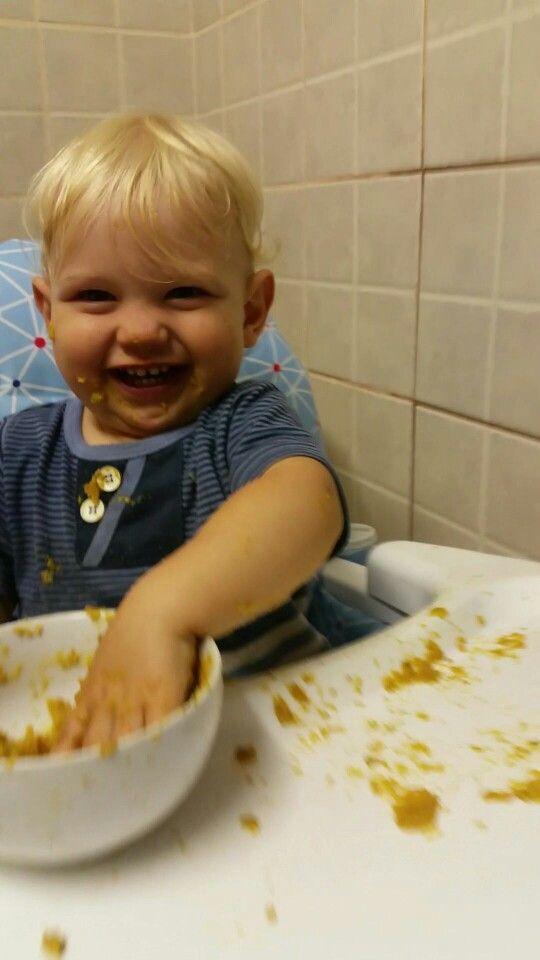 #nephew #babyboy #cute #baby #love #livingforlove #livingfortrent #goodtimes #trenty #family #foodtime #happy