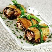 Süzme yoğurtlu patlıcan sarma | Yemek Çeşitleri ~ Yemek Tarifleri