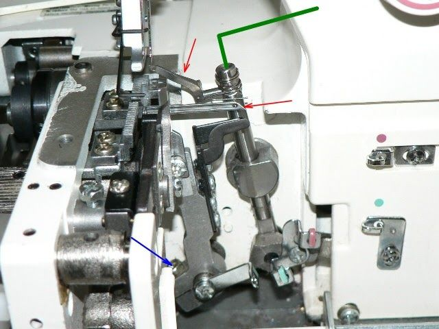 Do it yourself serger repair - How to adjust serger timing (from Laura's Blog)