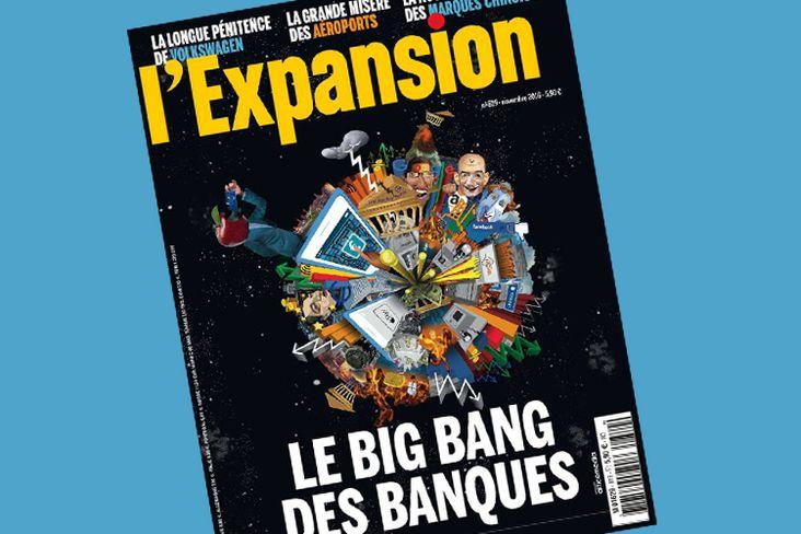 Le magazine économique L'Expansion va cesser de paraître