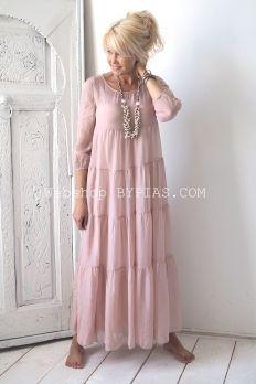 IT42 Silk Maxidress, Light Pink (149,-)