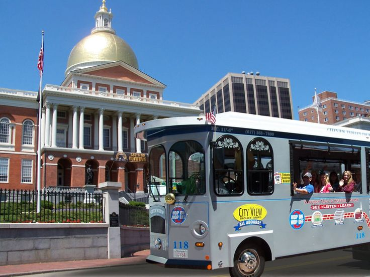 Boston Freedom Trail Hop-On, Hop-Off Trolley 2-Day Ticket