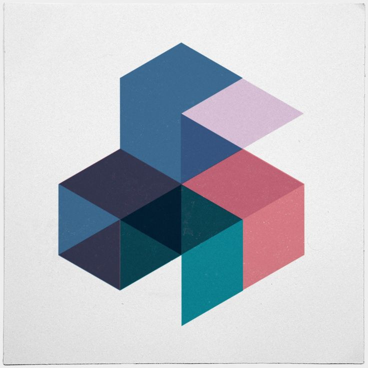 #505 Super cubes™ – http://bit.ly/Geometry-Daily-T-Shirts are here! – A new minimal geometric composition each day
