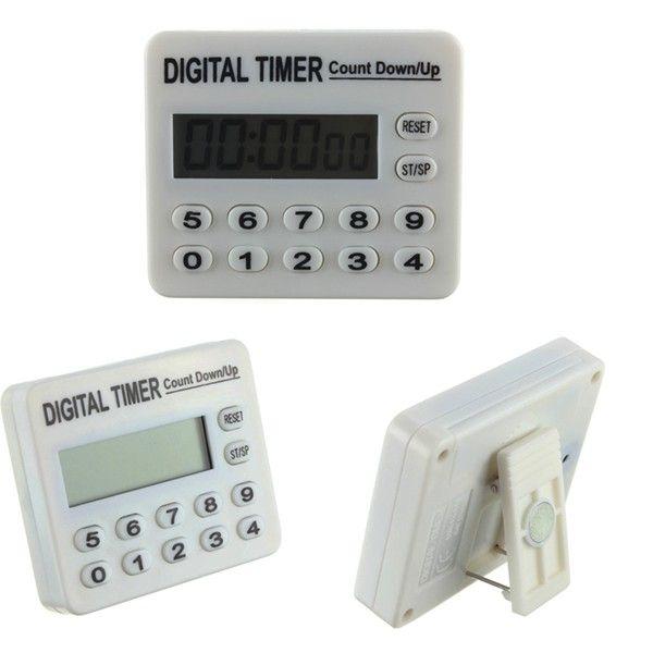 12 Keys Electronic Remind Digital Timer