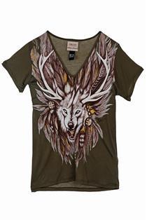 Camiseta Feminina Manga Curta Est Ref. 340101571-38380 Colcci  Verde