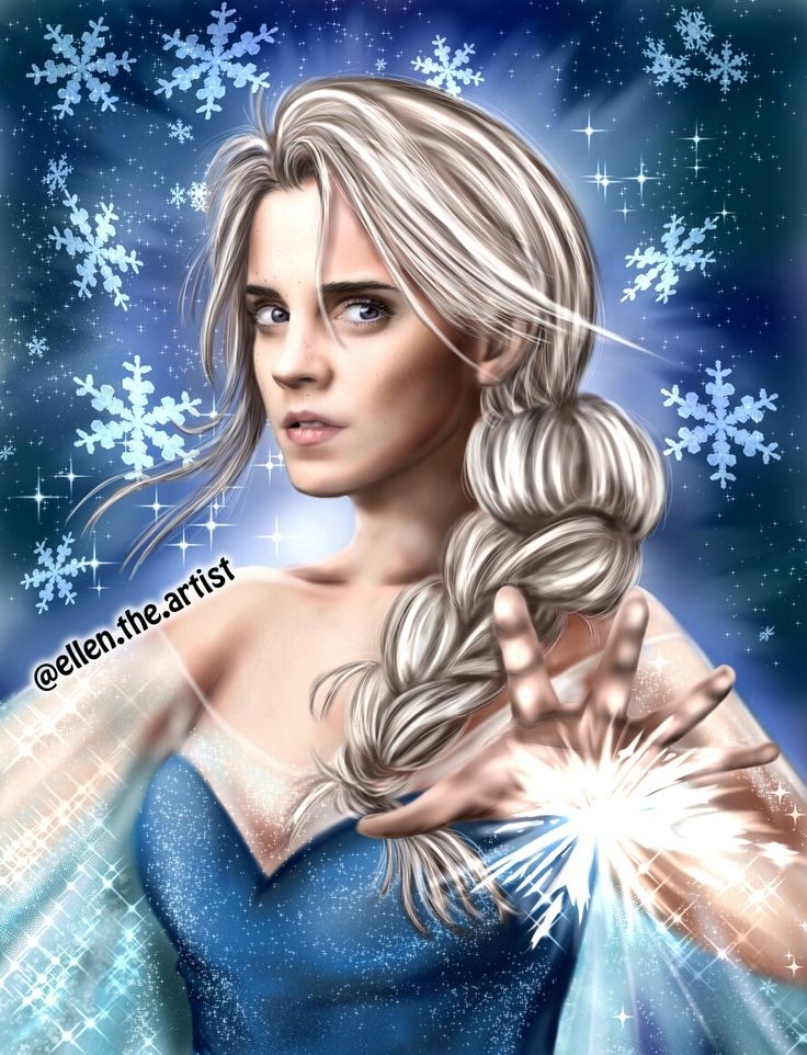 Emma as Elsa!