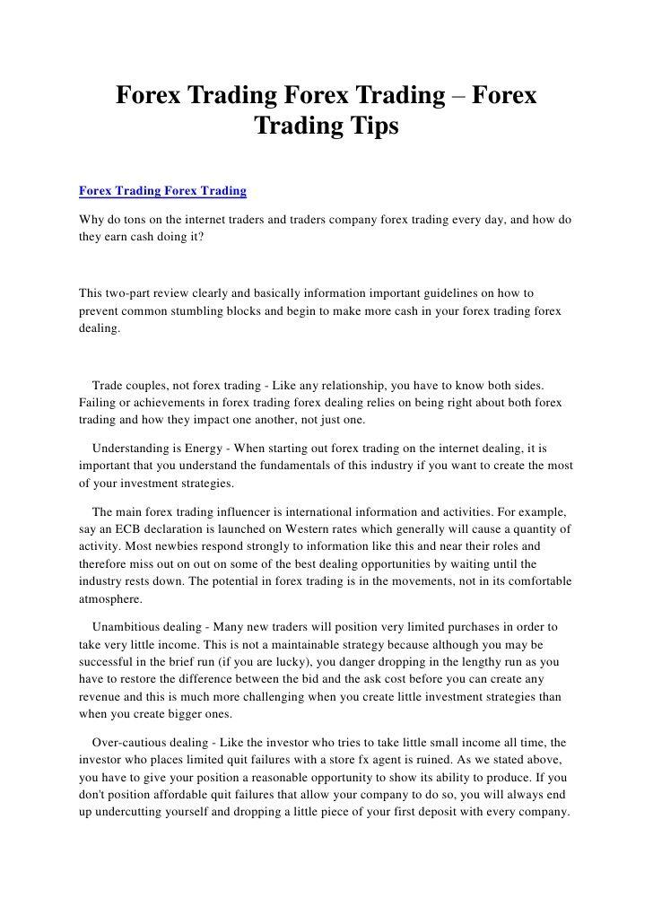 Forex trading forex trading – forex trading tips