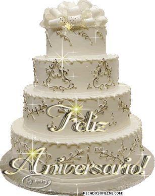 bolo de feliz aniversario para imagens | Feliz Aniversario Bolo Recados Para…