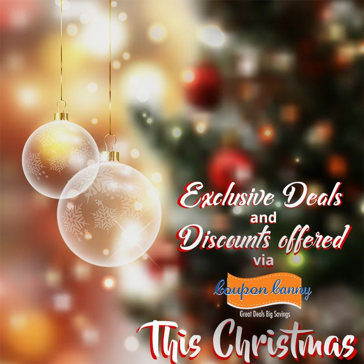 Get some #awesome #discounts when you #shop this #Christmas Season with #CouponCanny!  Start exploring deals here: http://www.couponcanny.in/