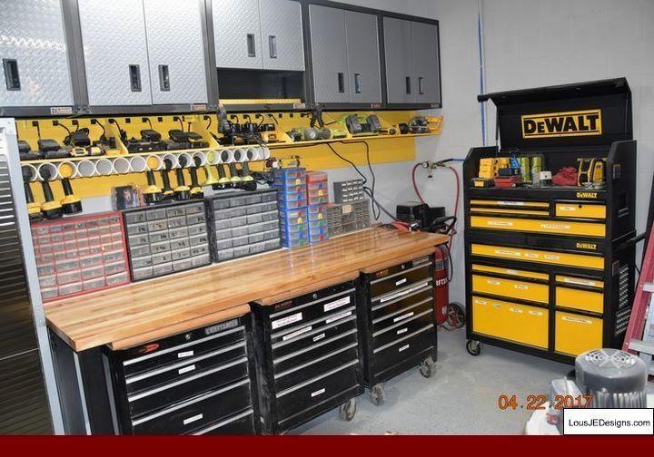Garage Workshop Prices and Diy Workbench For Garage.