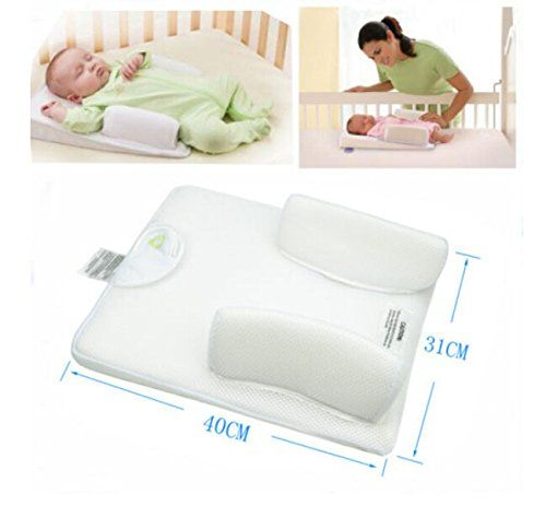 baby wedge sleep positioner anti roll pillow for baby https