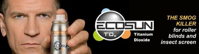Ecosun, in difesa della salute e dell'ambiente - Primo in Italia nel suo genere, Ecosun è un trattamento per zanzariere e tende tecniche in grado di purificare l'aria degli ambienti interni dagli agenti inquinanti. A base di biossido di titanio, un minerale non tossico e ininfiammabile, Ecosun è un fotocatalizzatore che si attiva utilizzando l'energia solare.