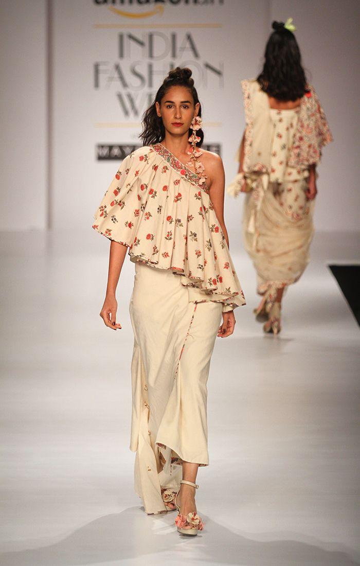 Nikasha at Amazon India Fashion Week autumn/winter 2017