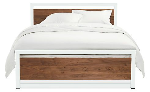 Piper Wood Bed in Colors - Modern Beds & Platform Beds - Modern Bedroom Furniture - Room & Board