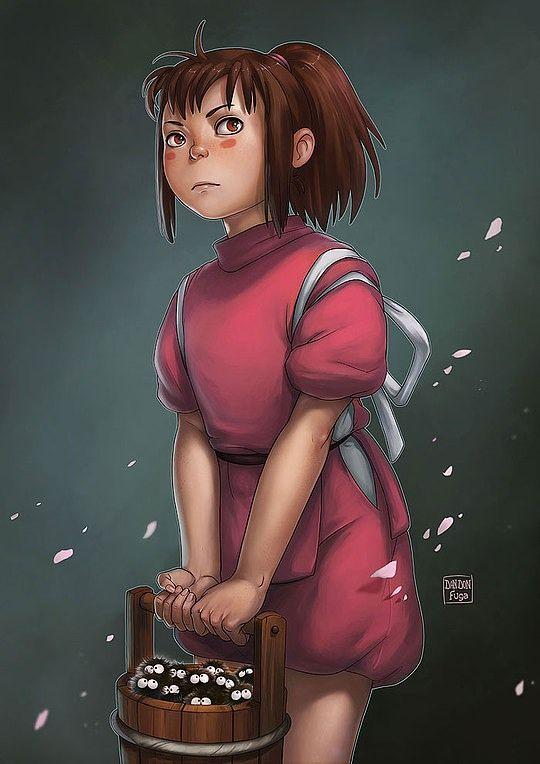 Beautiful Illustrations by Dandonfuga