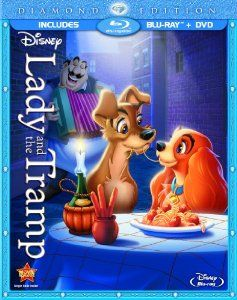 Amazon.com: Lady and the Tramp (Diamond Edition Two-Disc Blu-ray/DVD Combo in Blu-ray Packaging): Larry Roberts, Verna Felton, Barbara Luddy, Bill Baucom, Stan Freberg, George Givot, Peggy Lee, Dallas McKennon, Lee Millar, Alan Reed, The Mello Men, Bill Thompson: Movies & TV