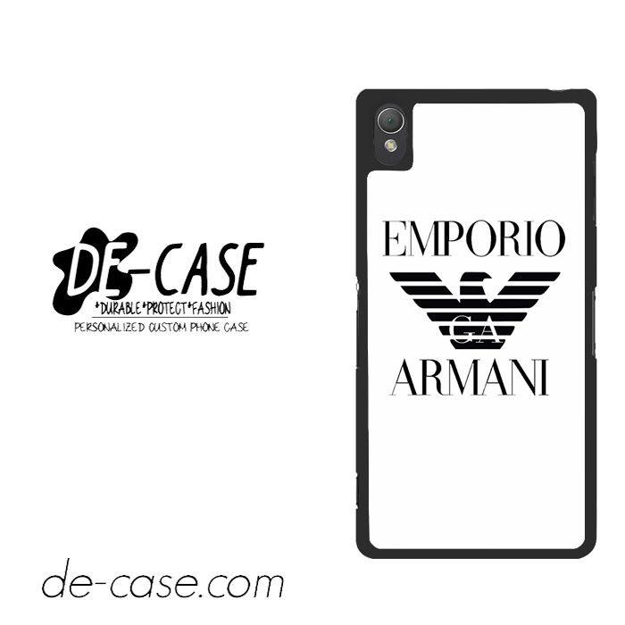 Emporio Armani For Sony Xperia Z3 Case Phone Case Gift Present YO