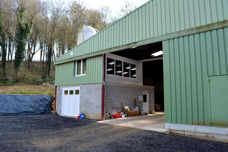 DIY Prefabricated Office Space Farm Exterior