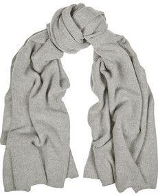 Écharpe en laine et cachemire mélangés