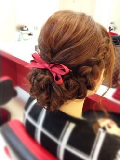braid + bow = perfection