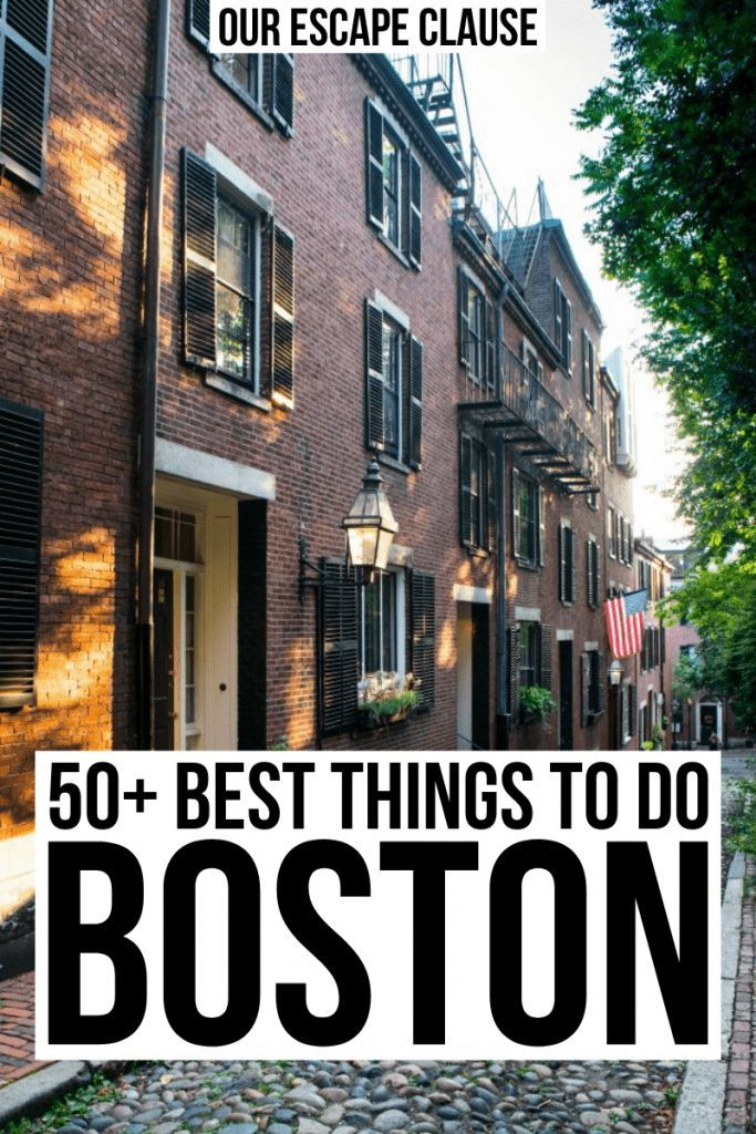 55 Best Things To Do In Boston Travel Tips Boston Travel