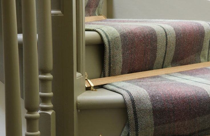 Stair-runner in ANTA Cawdor Carpet. Carpets are 100% wool with a Stain-resistant coating. Find out more at http://anta.co.uk/made-in-scotland/decoration/carpet #textiles #carpet #anta