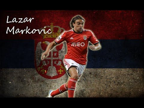 Lazar Marković (Serbian Cyrillic: Лазар Марковић; born 2 March 1994) is a Serbian footballer who plays for English club Liverpool and the Serbia national team as a striker or a winger.