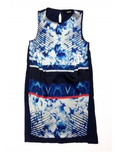 Nicholas Abstract Floral Tank dress - Runway Brooklyn