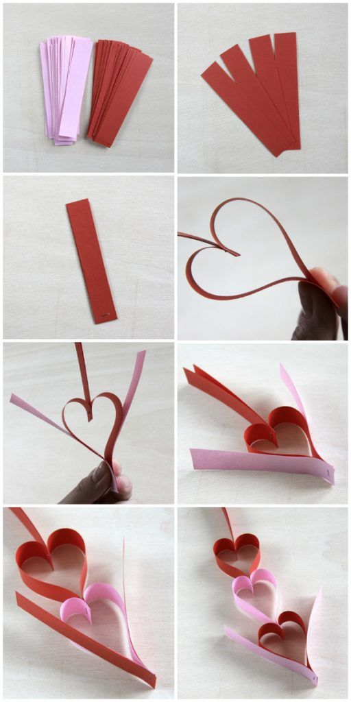 Best 25 guirnaldas de cartulina ideas only on pinterest - Manualidades con papel de colores ...