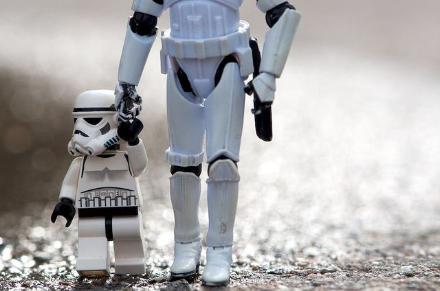 Stormtroopers make good dads