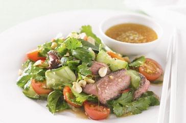 Thai beef salad with lemongrass dressing main image