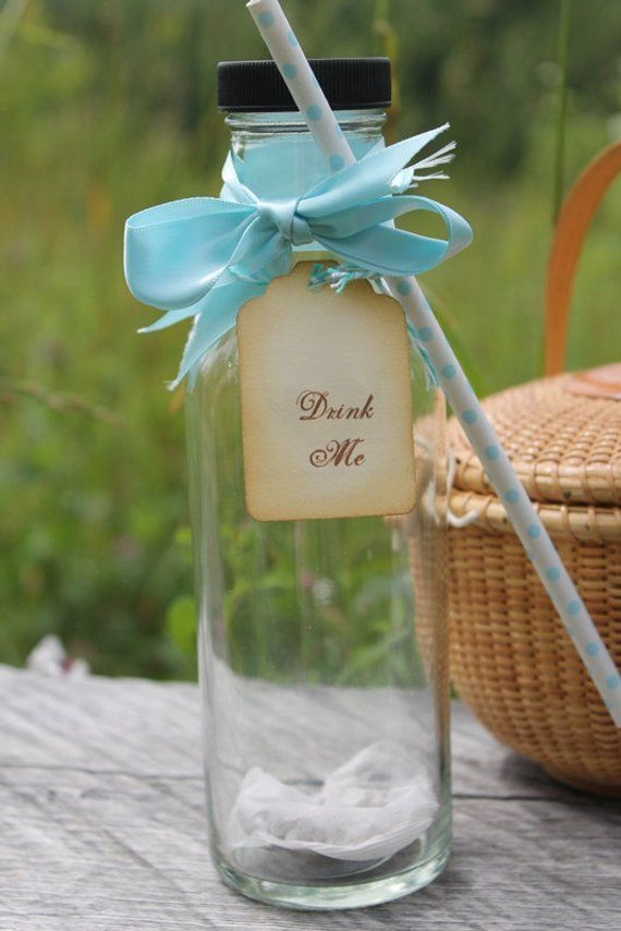 iced tea party favor wedding bridal shower baby shower country