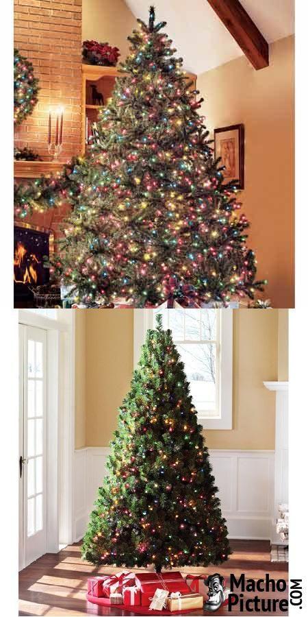 Prelit artificial christmas trees - 3 PHOTO!