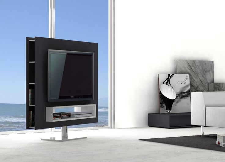 IT Design Mario Bellini. BRAGA ROTATING TV STAND SWIVEL BASE AVAILABLE AT  DECORIUM.US