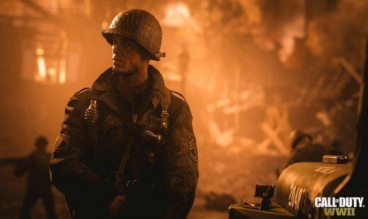 call of duty ww2, video game, e3 2017, first person, shooter, playstation 4, xbox one, review, activision